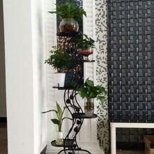 Красивый цветок стенды гостиная балкон полка для цветочных Горшков