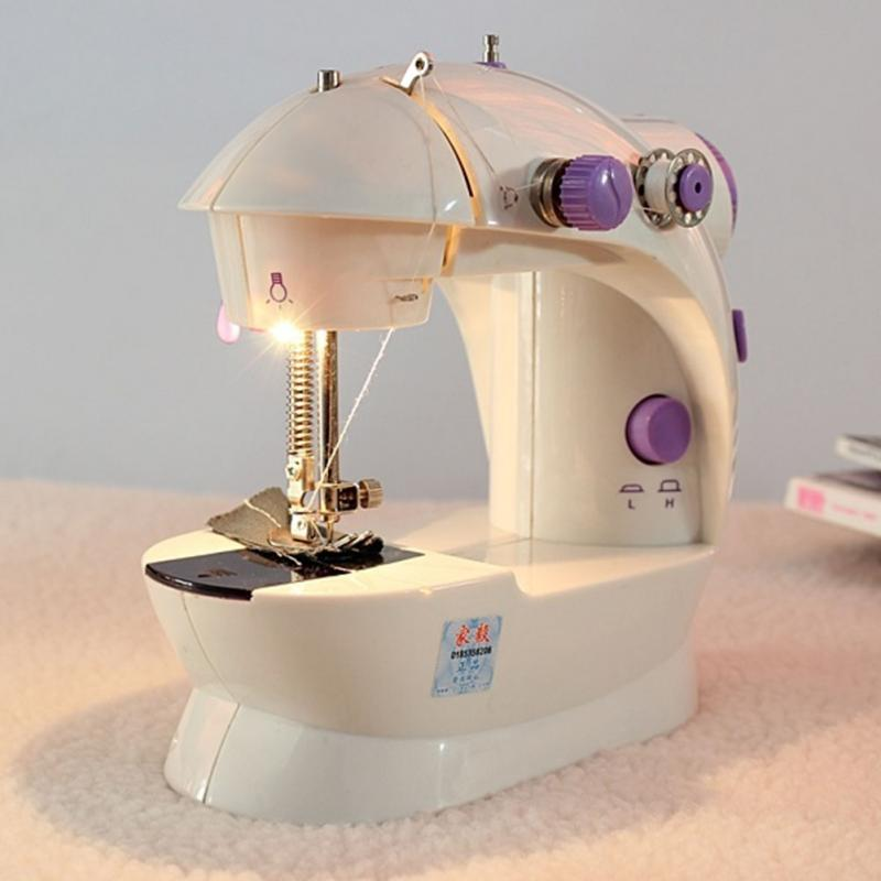 Multifunction Electric Mini Automatic Tread Rewind Sewing Machine Mesmerizing Handheld Sewing Machine Reviews