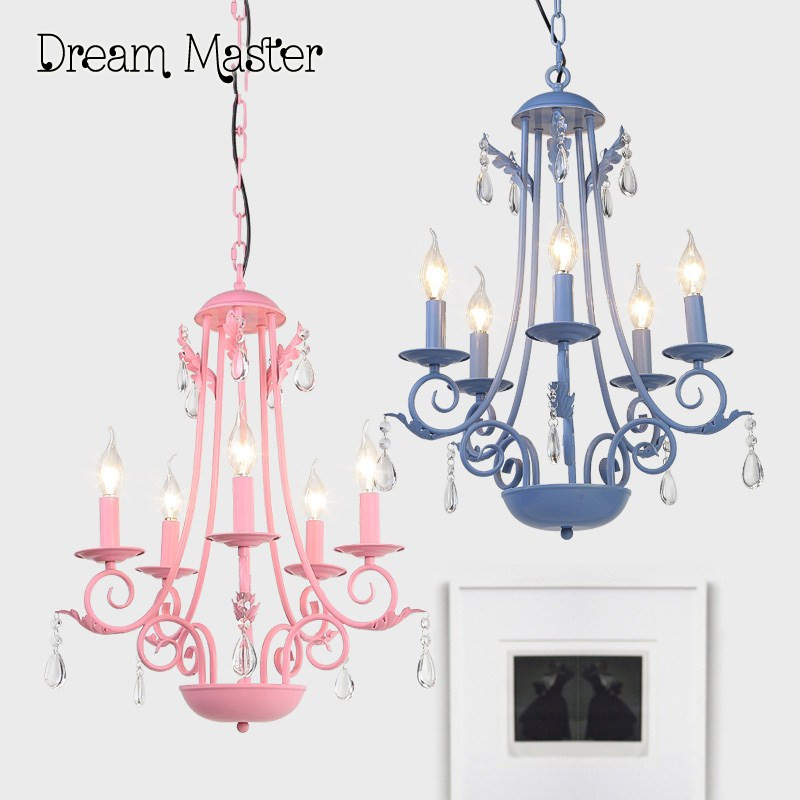 American style village crystal Iron Chandelier restaurant bedroom study Mediterranean Iron Chandelier free shipping new chinese style ceramic chandelier restaurant study bedroom art warm solid wood chandelier free shipping