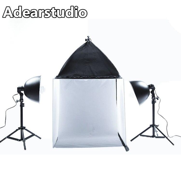 Photo Studio Light Tent Kit PHOTO Box Photographic equipment 60cm softbox kit photo studio box