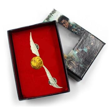 Брошка Золотой снитч Гарри Поттер