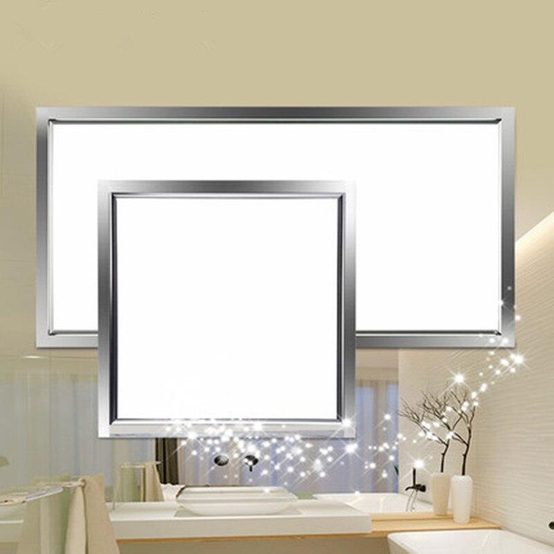 Us 1898 Zintegrowane Oświetlenie Sufitowe Led światła Płaskie światła Aluminium Płyty Lampy Sufitowe Wbudowany Kuchni Panelu światła łazienka