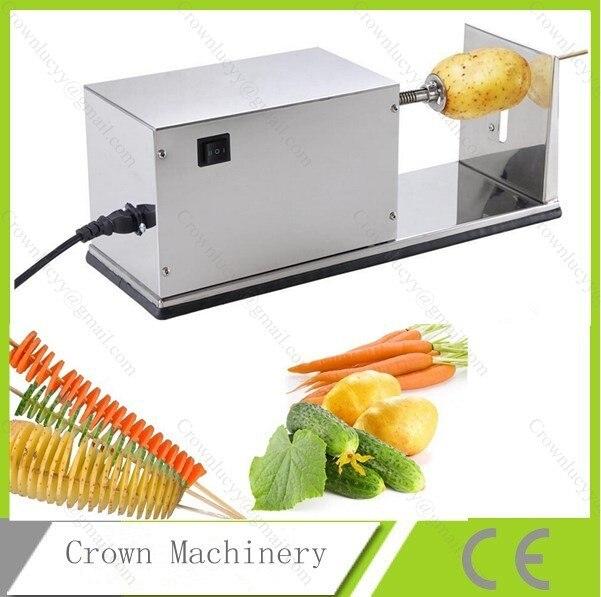 Electric Twister Potato Slicer Machine Automatic Potato Cutter Twister Machine