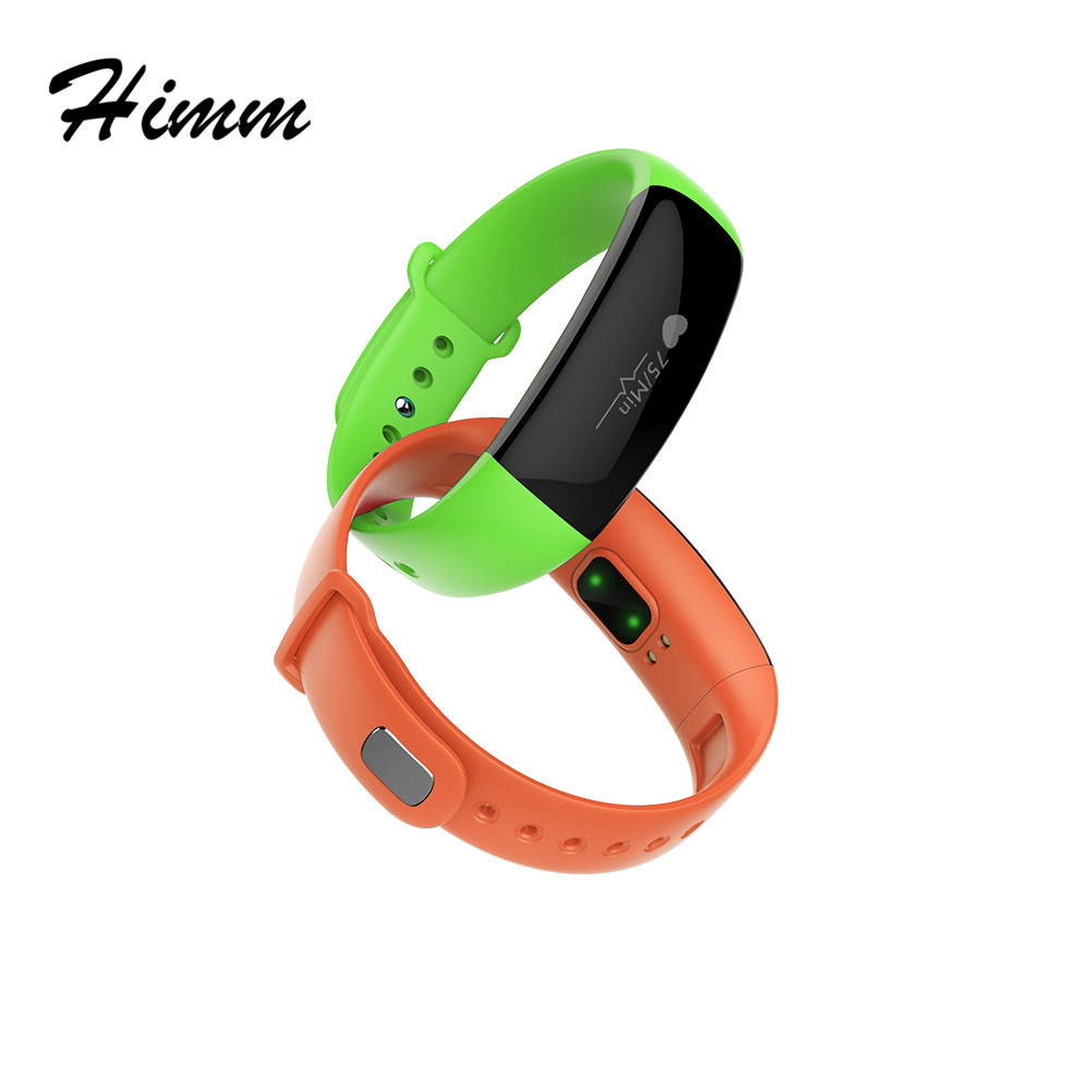 10pcs lot DM88 Smart sports Wristband 0 86 OLED Touch screen BT4 0 Heart Rate Monitor