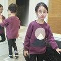 Niñas ropa de primavera camiseta de los niños para 3 4 5 6 7 8 9 10 11 12 13 Años Adolescentes Niña Manga Larga Camiseta Enfant Fille