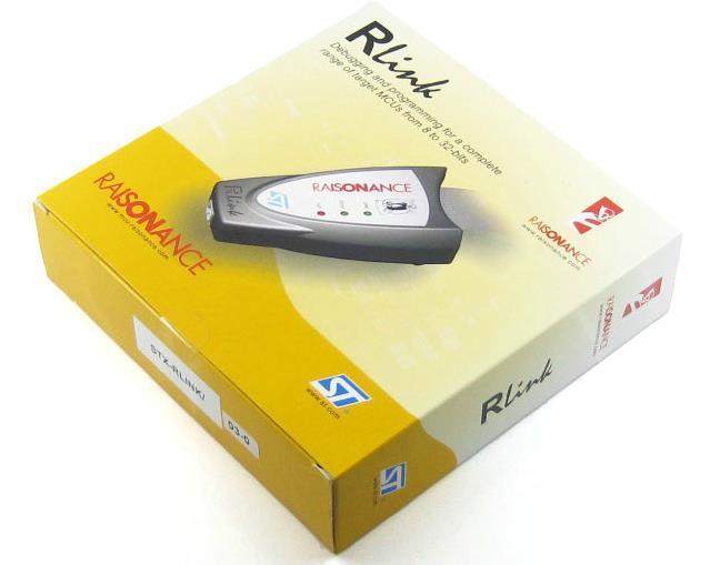 Livraison Gratuite! 1 pc ST STX-RLINK STM8 STM32 Émulateur Downloader