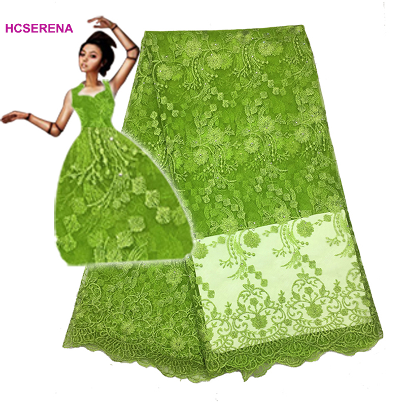 2019 Latest French Laces Fabrics High Quality Tulle African Laces Fabric For Wedding Nigerian Net Lace Material Free shipping
