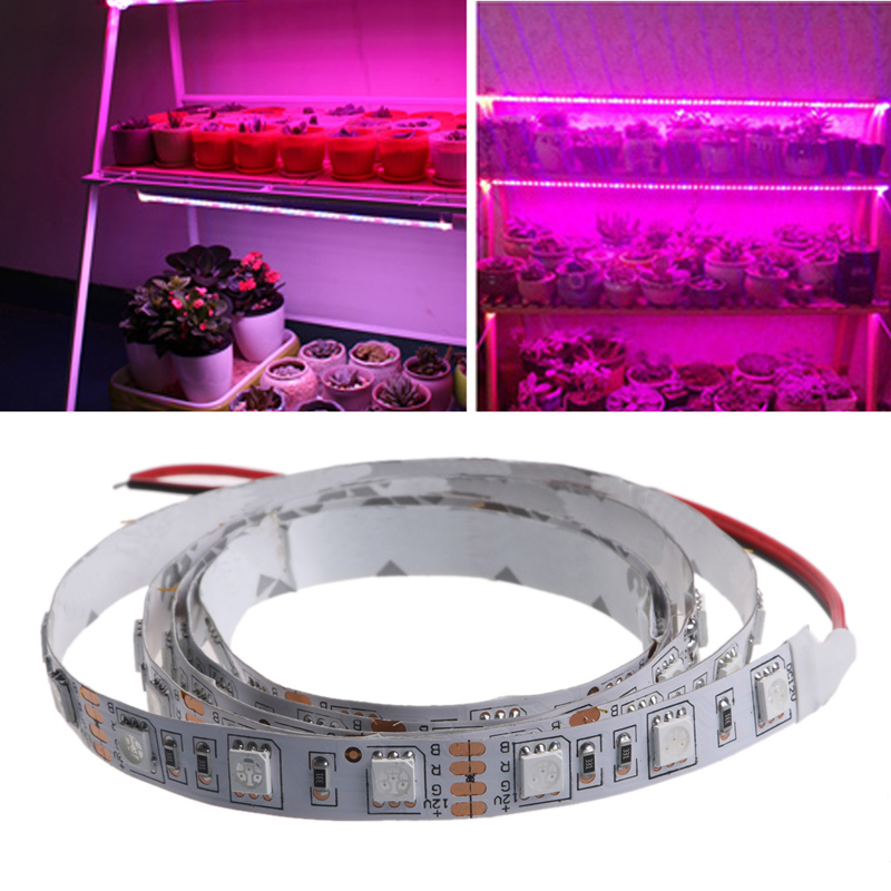 YAM New Designed Soft and Flexible Grow Light Bar LED 5050 SMD DC 12V Grow Bar Flexible Soft Strip Light Indoor Plants Flower