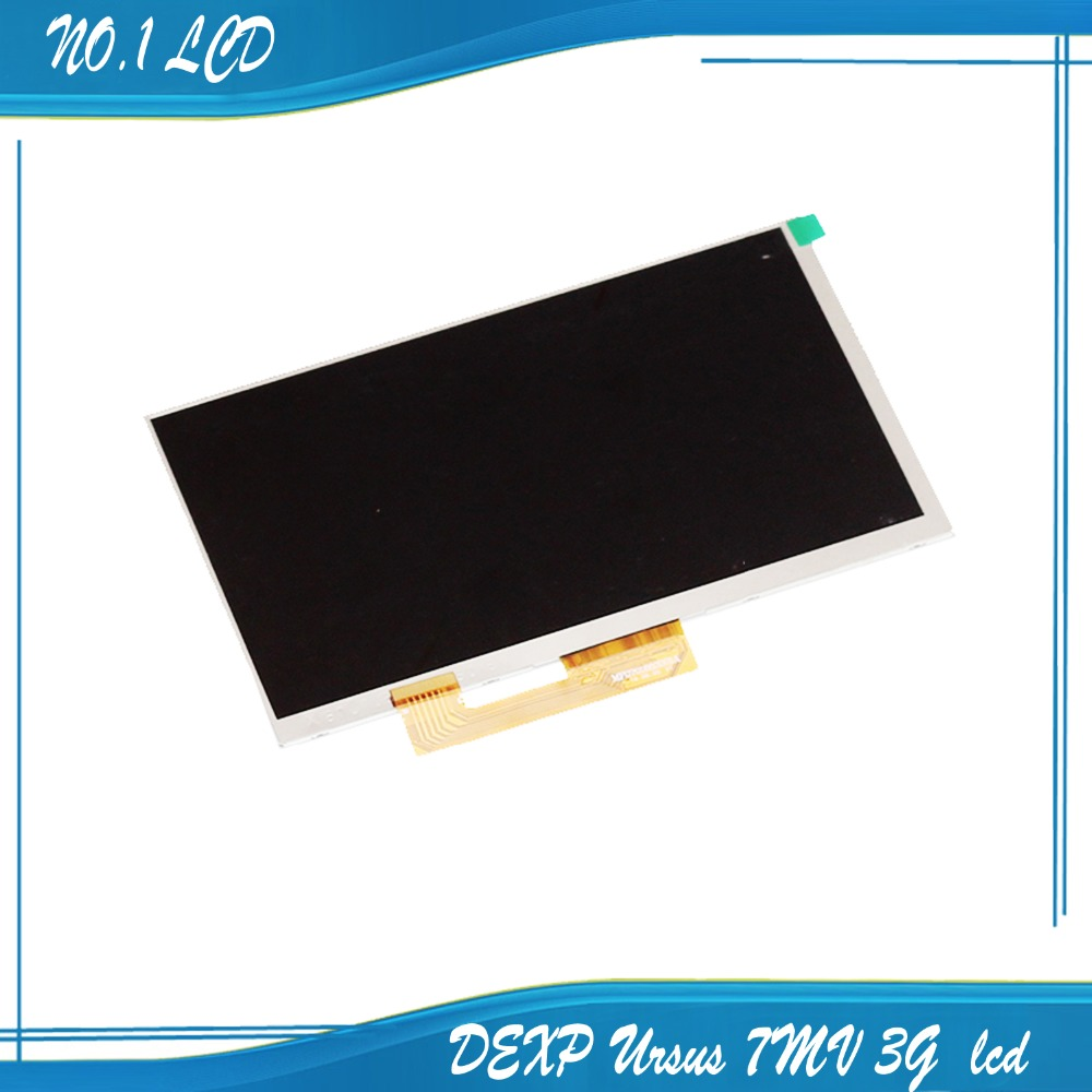 New 7'' inch LCD display Matrix For DEXP Ursus 7MV 3G Tablet inner TFT LCD Screen Lens Module Glass Replacement Free Shipping new lcd display matrix for 7 dexp ursus a370 3g tablet 1024x600 inner lcd module screen panel frame free shipping