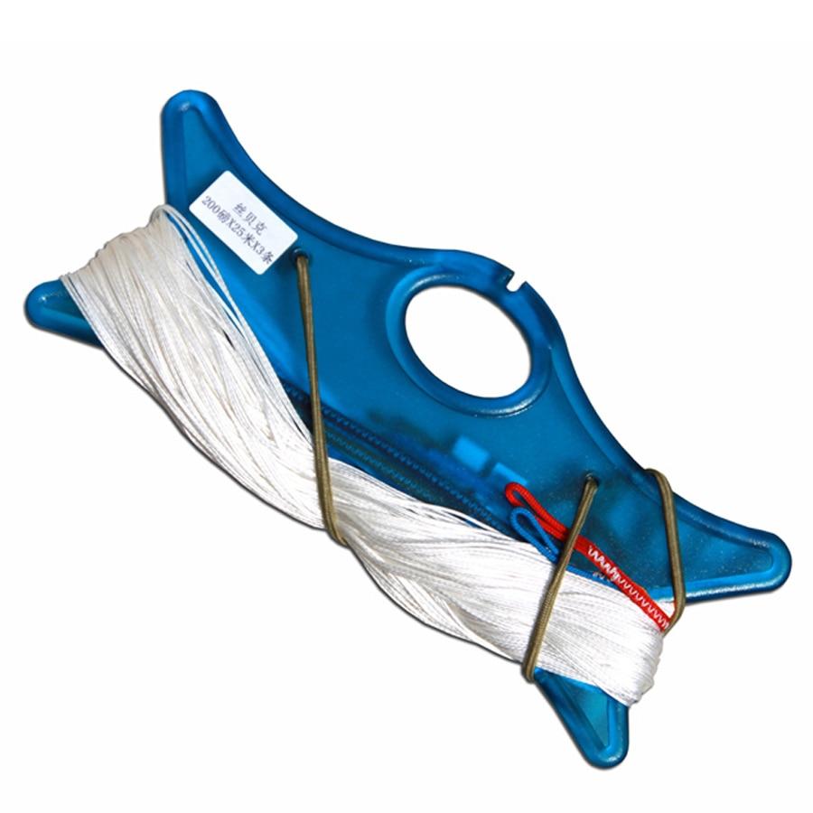 Kite Flying Tool Kite Line Dual Line Stunt Kite Flying String 100kg x 20m x 2 For Kiteboarding Kitesurfing Trainer Kite freilein kite flying tool quad line stunt kite handles 2pcs with 30m kite line included
