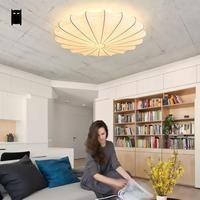 Рука белый шелк потолочный светильник Nordic светильники китайские скандинавский Лофт Модные потолочные лампы накаливания E27 для Обувь для де