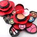 Miss rose sombra de olho placa médio plum blossom rotating caso caixa de cosméticos da sombra de olho paleta de maquiagem ferramentas de maquiagem 7002-211y