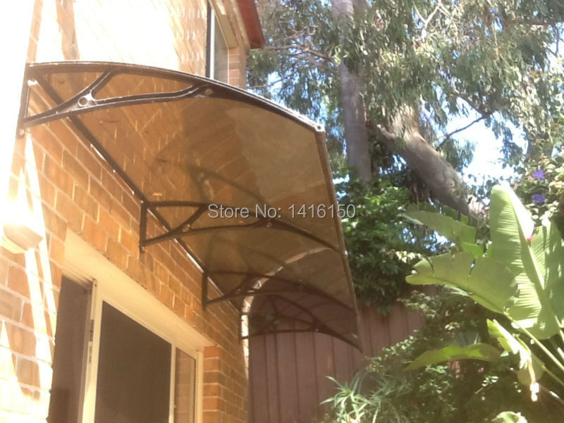 DS100300 A,100x300cm,Outdoor Decoration Aluminum Patio Covers,Polycarbonate  Patio Cover,Door U0026 Window Aluminum Patio Covers In Awnings From Home U0026  Garden On ...