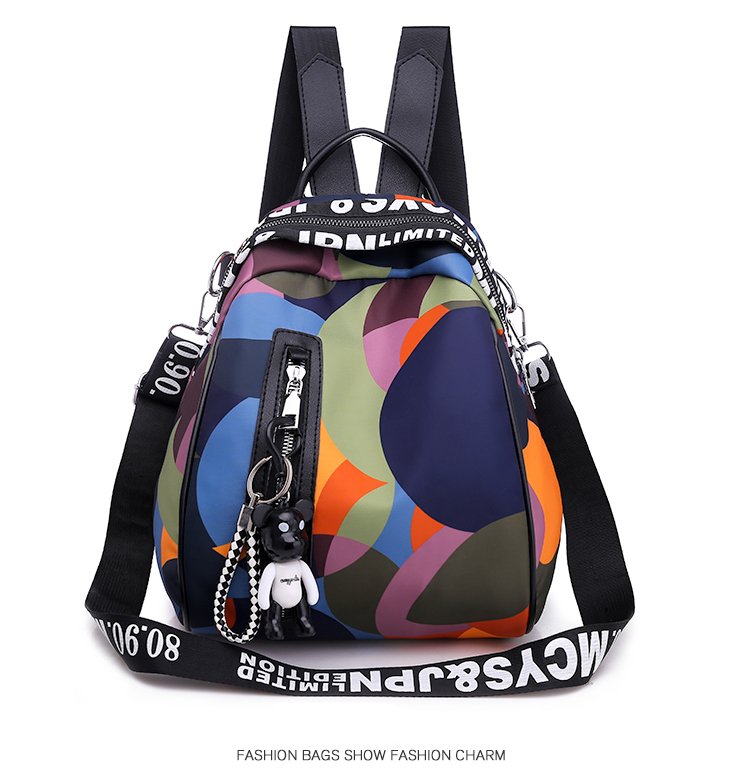 HTB1gyf3bjzuK1RjSspeq6ziHVXaU New Multifunction Backpack Women Waterproof Oxford Bagpack Female Anti Theft Backpack Schoolbag for Girls 2019 Sac A Dos mochila