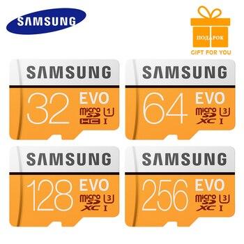 New SAMSUNG 128GB MicroSD 64 GB Memory Card carte micro sd 64gb classe 10 TF Trans Flash Mikro memoria micro sd EVO+ 64gb