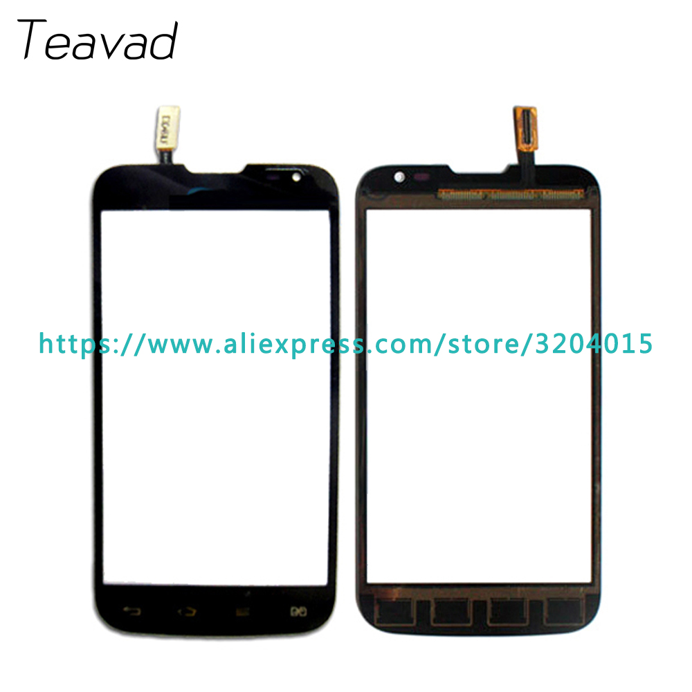 Free shipping Replacement parts 4.5 For LG L70 Dual Sim Card D325 Touch Screen Digitizer Sensor Outer Glass Lens Panel