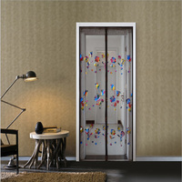 The New Summer Mosquito Magnetic Soft Screen Door Magnetic Mosquito Curtain Air Curtain Soft Mute