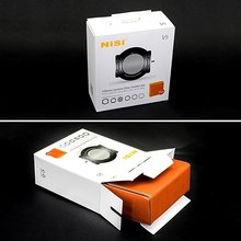 НИСИ 100 мм V5 площадь Комплект фильтр Трехместный 3 фильтр металлический держатель + CPL + переходное кольцо универсальный с интегрированным CPL или пейзаж CPL