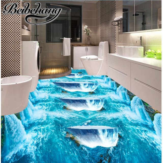 Beibehang 3d Pvc Flooring Custom Picture Wall Sticker The