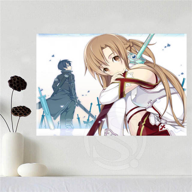 Canvas Poster Art Sword Art Online