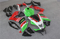 Injection Fairing rea green Body Kit Bodywork for Aprilia RS4 125 RS4 RS125 RS 4 125 2012 2013 2014 2015 13 12 14 15