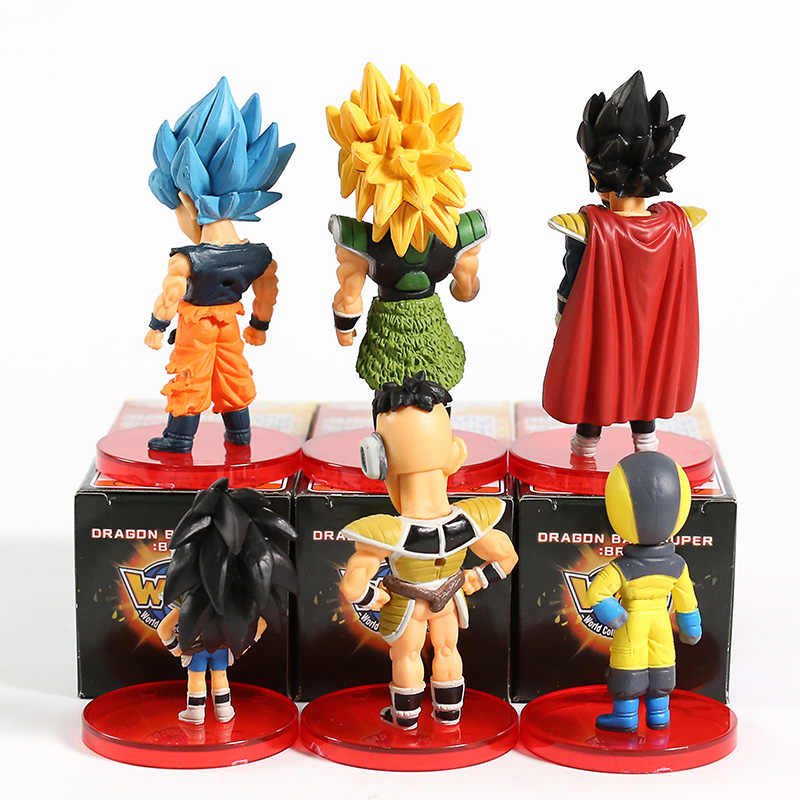 Filme Super Dragon Ball WCF Mundo Coleccionáveis Boneca Figura vol.1 ~ 2 Gogeta Son Goku Vegeta Freeza Broly Paragus Nappa raditz Bulma