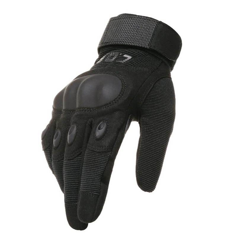 Army Tactical Glove Outdoor Sport Full and Half finger Combat Gloves Motocycle Racing Slip resistant Carbon