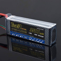 TIGER POWER Reachargeable Lipo Battery XT60/Plug 11.1V 3500mAh 3S 35C Lipo Battery RC Toys Models FOR RC Airplane Drone