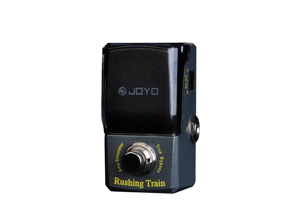 JOYO Rushing Train Amp Simulator Effects Series Mini  High Sensitive Electric Guitar Effect savarez 510 cantiga series alliance cantiga normal high tension classical guitar strings full set 510arj