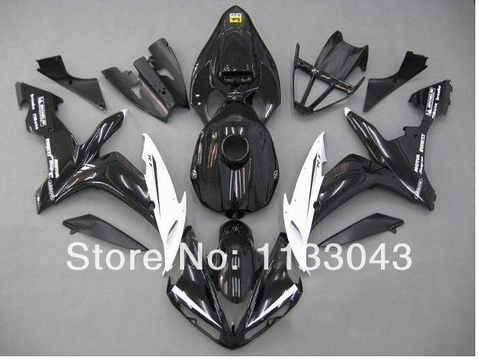 Injection mold+ ABS mold fairing kit for Yamaha YZF R1 04 05 06 YZF-R1 04-06 YZF1000 YZF R1 2004 2005 2006 #127 fairing parts wotefusi black motorcycle injection mold bodywork motorcycle fairing for 2004 2005 2006 yamaha yzf1000 r1 04 05 06 3 [ck813]