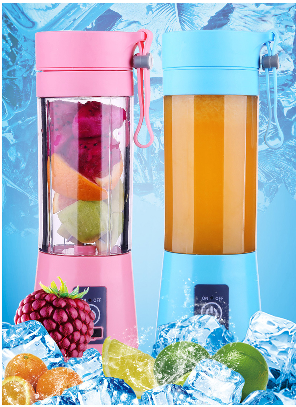 HTB1gyhEWgHqK1RjSZJnq6zNLpXau 380ml Portable Juice Blender USB Juicer Cup Multi-function Fruit Mixer Six Blade Mixing Machine Smoothies Baby Food dropshipping