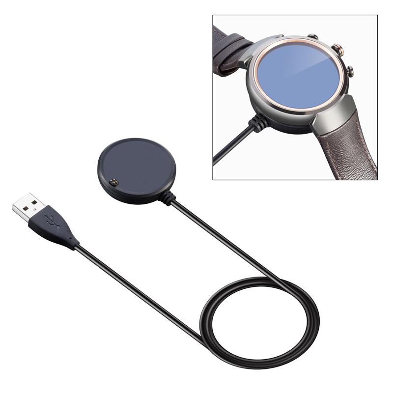 3FT USB Magnetic Charger Faster Charging Cable For ASUS ZenWatch 3 Smart Watch