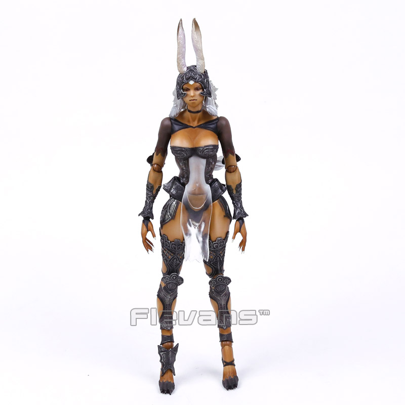 ФОТО Play Arts KAI FINAL FANTASY XII Fran PVC Action Figure Collectible Model Toy (without retail box)