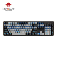 HEXGEARS GK706 Kailh MX Blue Switch Mechanical Gaming Keyboard Water Resistance Pink 104 Key Mechanical Keyboard