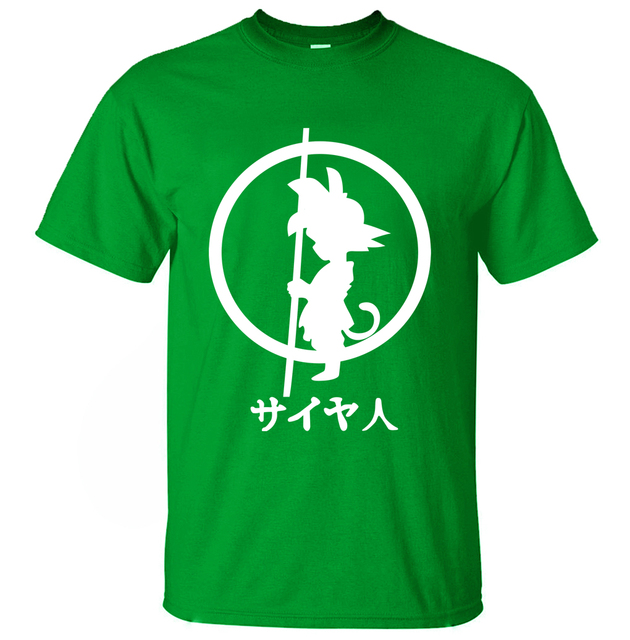 Dragon Ball Z Anime Printed Cotton T-Shirts