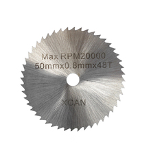 22mm-50mm Mini Saw Blade HSS Rotary Tools Circular Saw Blades Cutting Discs Mandrel Cutoff Cutter Power tools multitool