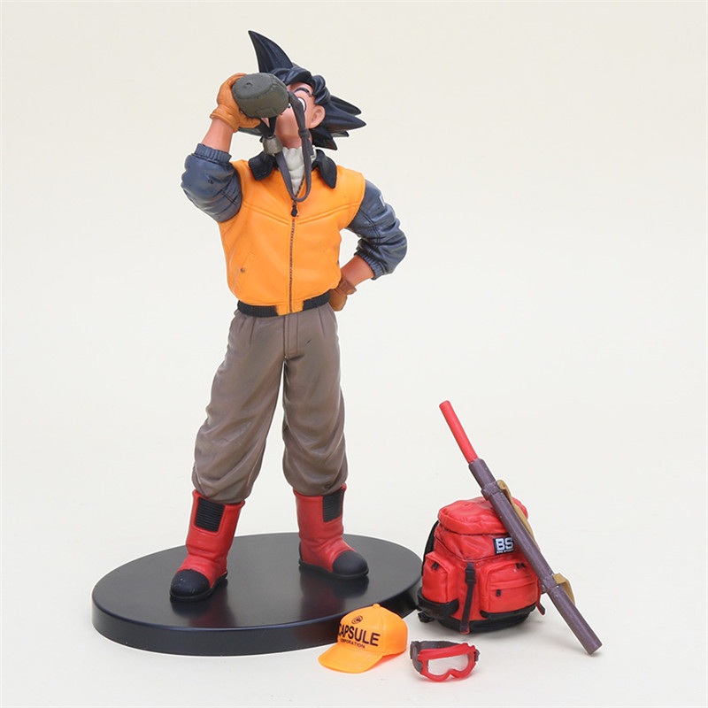 1pc/lot Goku Drink Water Dragon Ball Toys Action Figures Collection Model Toy Dragonball ...