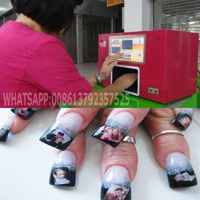 2017 Best Quality Lowe Price Nail Printing Machine Ce Roved Digital Printer Nails Art With