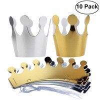 Sombrero de papel Feliz cumpleaños para niños, gorro, corona de Príncipe Princesa, decoración de fiesta para niño y niña, decoraciones para fiesta de cumpleaños