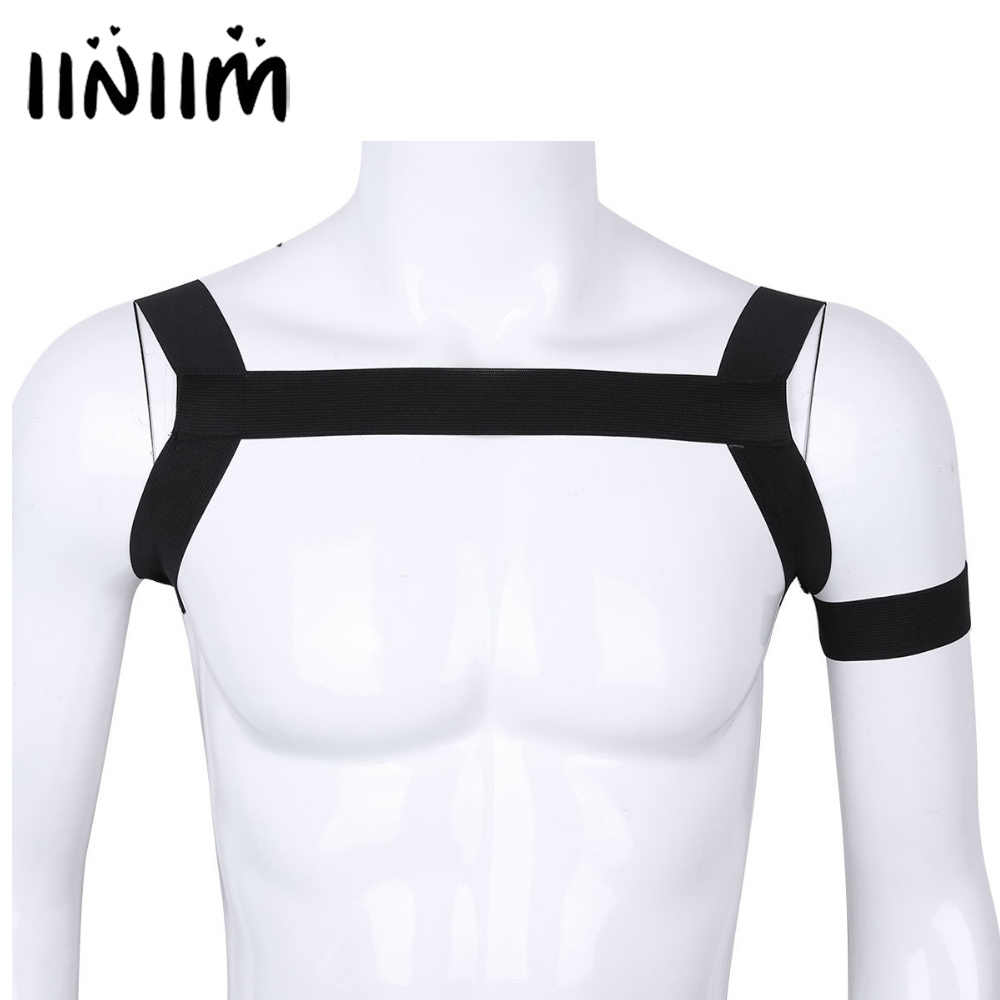 Detail Feedback Questions about Mens Body Chest Harness Belt ...