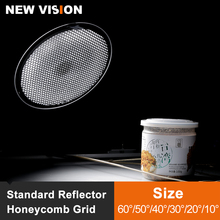 Aluminium Wabengitter 6,7 17 cm 2/3/4/5/6/7mm für Bowens Standard Reflektor Grid Fotografie Studio