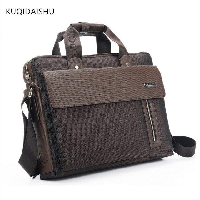 b65447f10f281 الرجال kuqidaishu أكسفورد للماء 14 بوصة محمول حقيبة الأزياء حقيبة الرجل  حقيبة الكتف حمل حقيبة سفر
