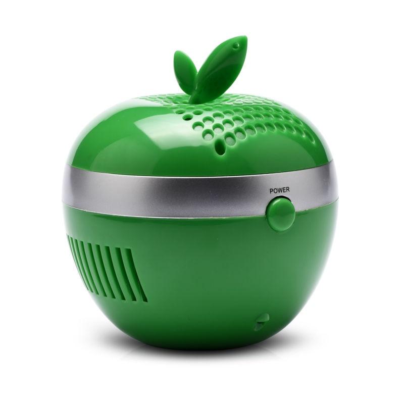 <font><b>Apple</b></font> Shape <font><b>USB</b></font> <font><b>Air</b></font> <font><b>Purifier</b></font> High Concentration Negative Ion Lonizer Eliminate Static Radiation Used PC Office Free Shipping