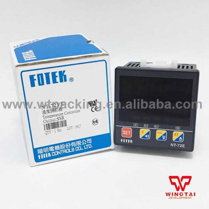 Fotek Digital Temperature Controller NT-72VE mt48 v fotek temperature controller new