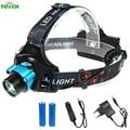 CREE XML T6 Induction LED Headlight 3 Mode Outdoor camping headlamp tactical Head Lamp Sensor light frontal Flashlight,18650 AA