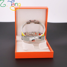 12mm color Fashion love bracelet bangle wristband with box H bracelet  love gold bracelets bangle jewelry for women gift