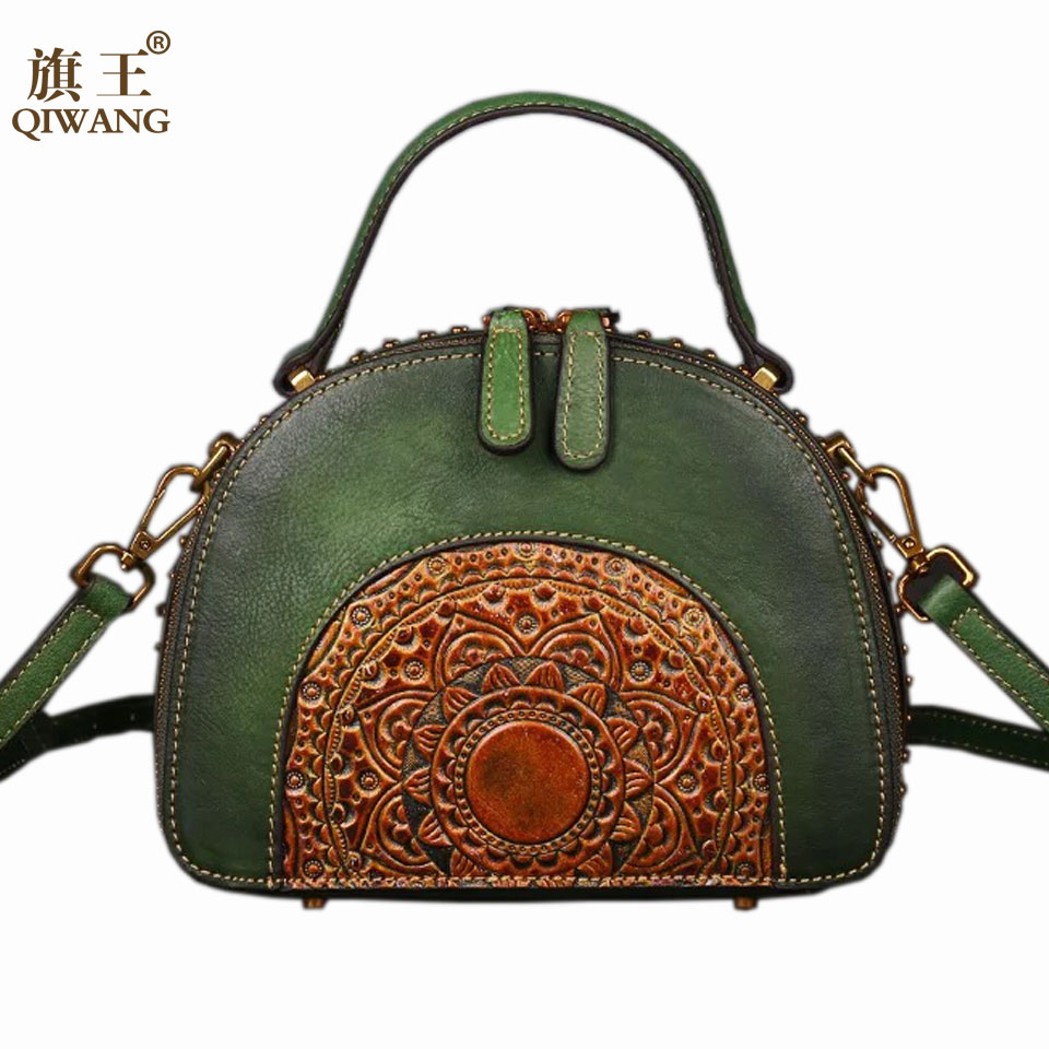 Handmade Flower Shell Handbag 3D Designer Flowers Genuine Leather Retro Women Bag Small Elegant Fashion Tote BagsHandmade Flower Shell Handbag 3D Designer Flowers Genuine Leather Retro Women Bag Small Elegant Fashion Tote Bags