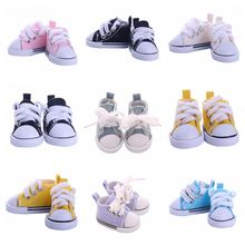 купить 5cm Canvas Shoes For 1/6 BJD Doll Fashion Mini Shoes Doll Shoes for Russian DIY handmade doll Doll Accessories Free Shipping онлайн