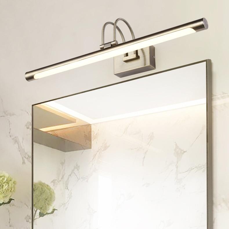 9 W/12 W/14 W/16 W mur LED montage photo luminaire acrylique salle de bain miroir avant lampe SMD 2835 chambre Bronze coquille