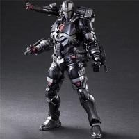 Play Arts Marvel The Avengers 3 Infinity War Iron Man Action Figures 1/6 PVC Toys War Machine PA Model 27cm